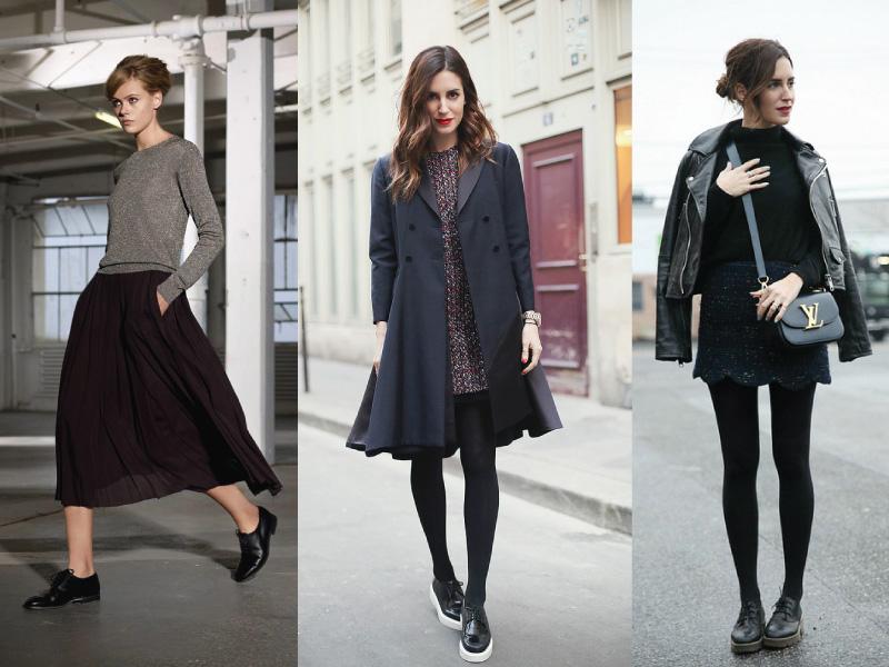 c555b500950 Όπως είπαμε και παραπάνω, από μόνα τους τα oxford παπούτσια προσδίδουν ένα  πιο ανδρόγυνο look, ποιο είναι λοιπόν το καλύτερο ρούχο για να προσθέσεις  μια ...