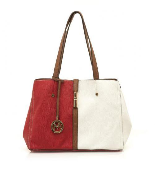 Mariamare τσάντα ώμου Gala - Κόκκινο