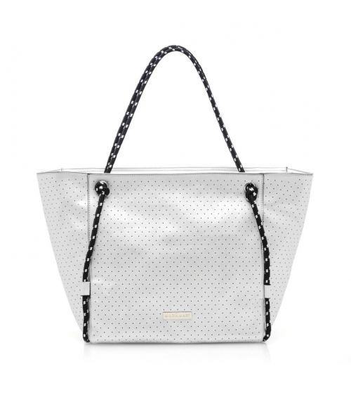 Mariamare τσάντα shopper Malva - Λευκό