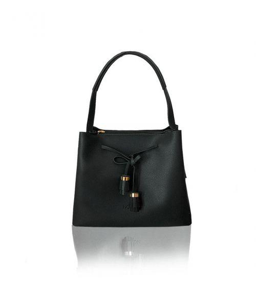 Τσάντα ώμου Carrie  - Μαύρο