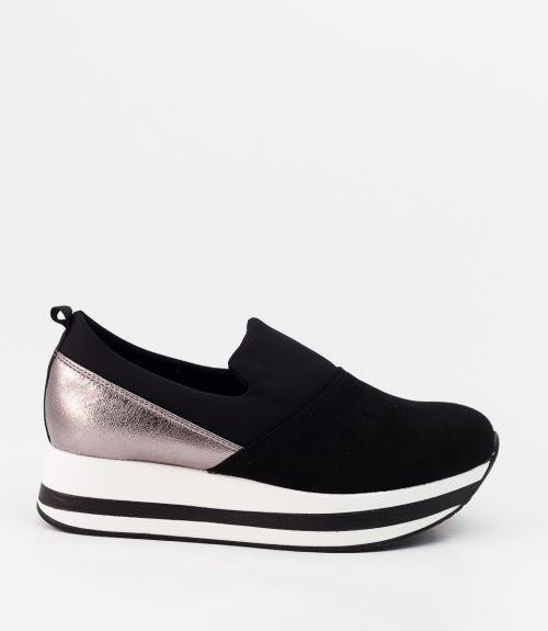 Slip-on sneakers - Μαύρο