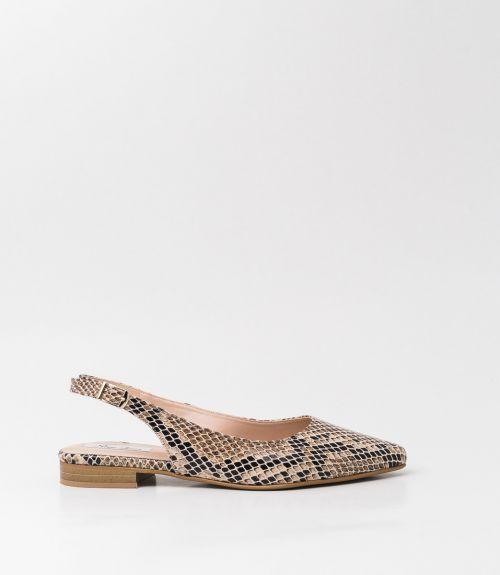Μυτερές μπαλαρίνες snake skin - Animal