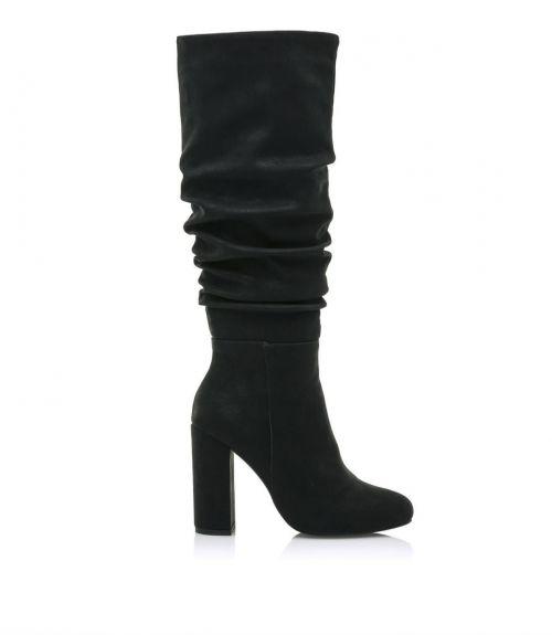 Μπότες με τετράγωνο τακούνι mariamare - Μαύρο