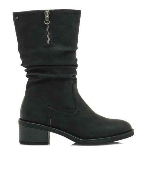 Mariamare μπότες 3/4 - Μαύρο