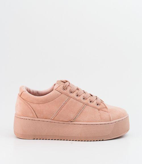 Suede sneakers - Ροζ