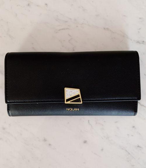 Cassie πορτοφόλι με σχέδιο  - Μαύρο