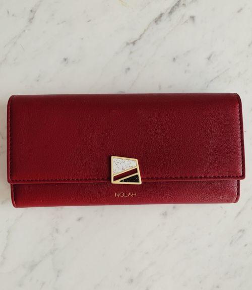 Cassie πορτοφόλι με σχέδιο  - Μπορντό