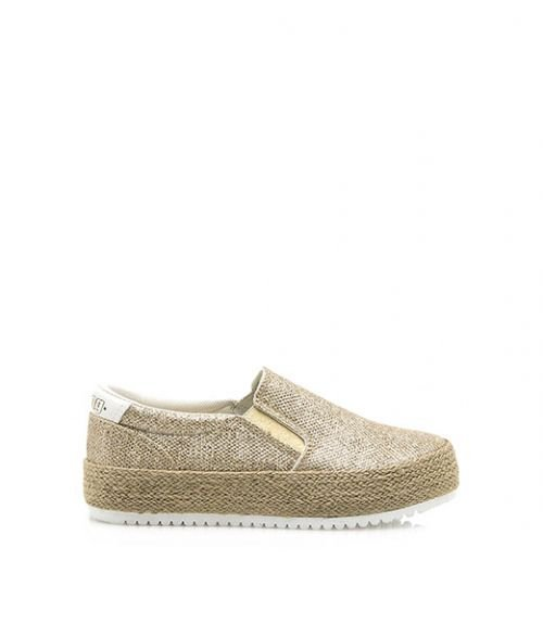 SLIP ON SNEAKERS  - Χρυσό