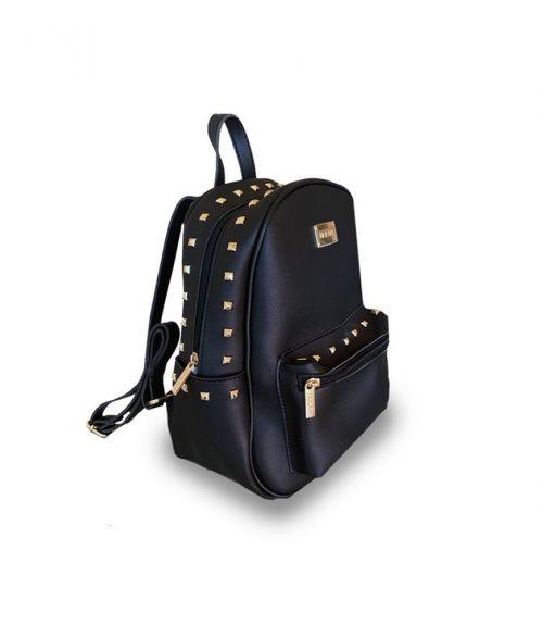 Τσάντα σακίδιο πλάτης Leon  - Μαύρο