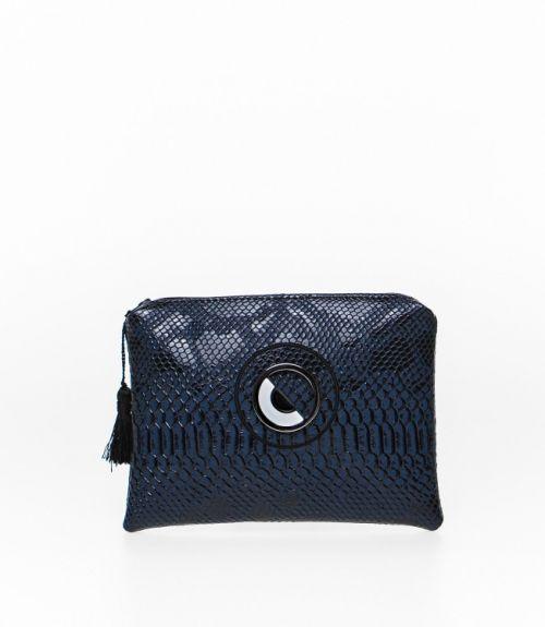 Τσάντα φάκελος - Μπλε