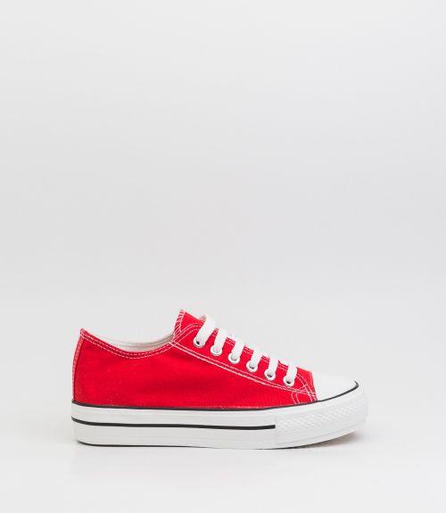 Πάνινα sneakers - Κόκκινο