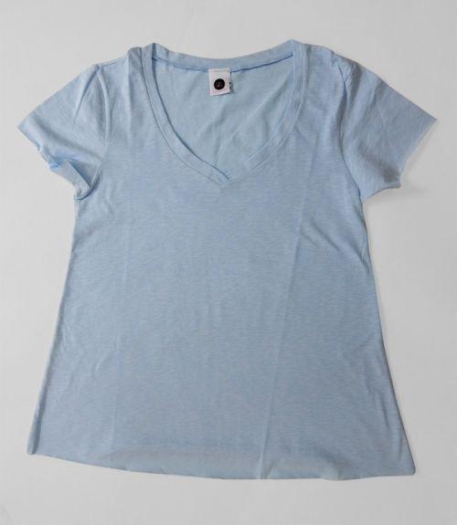 BASIC T-SHIRT  - Γαλάζιο