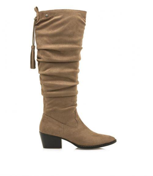 Μυτερές μπότες western - Πούρο
