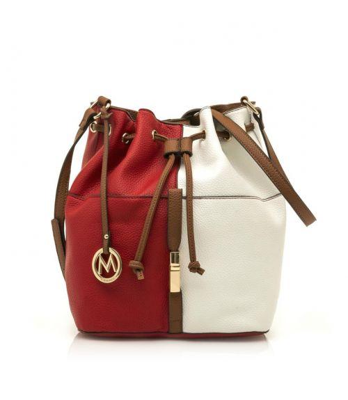 Mariamare τσάντα πουγκί Ginebra - Κόκκινο