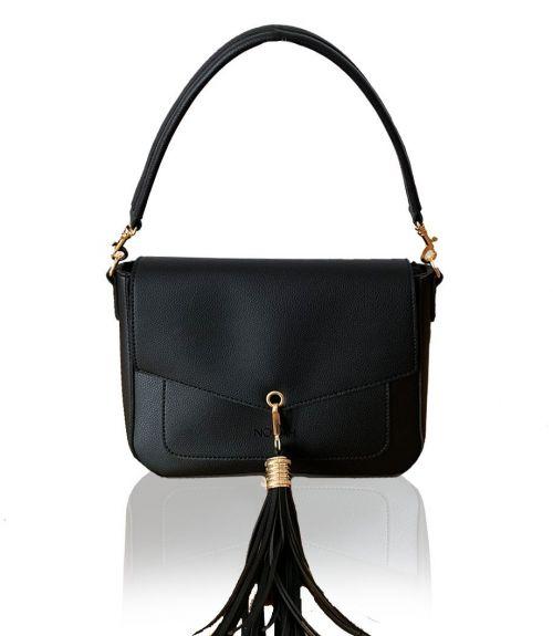 Τσάντα ώμου Celeste  - Μαύρο