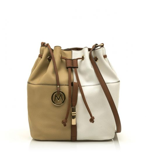 Mariamare τσάντα πουγκί Ginebra - Μπέζ