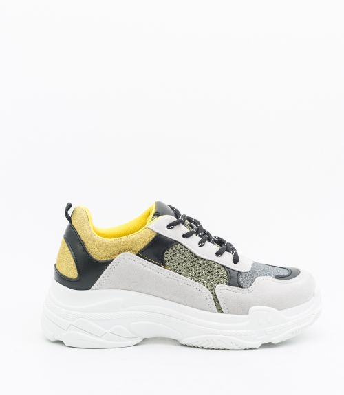 Sneakers με glitter - Multi