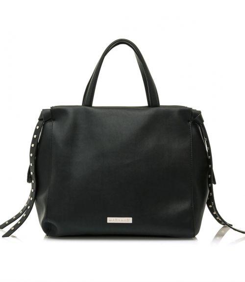 Mariamare τσάντα χειρός Lilit  - Μαύρο