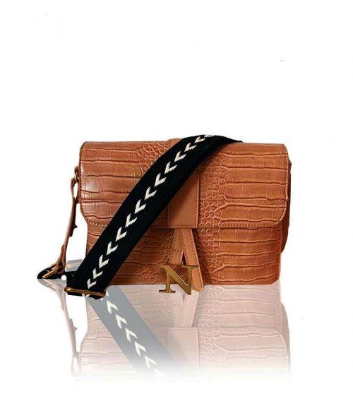 Zoe τσάντα κροκό   - Ταμπά