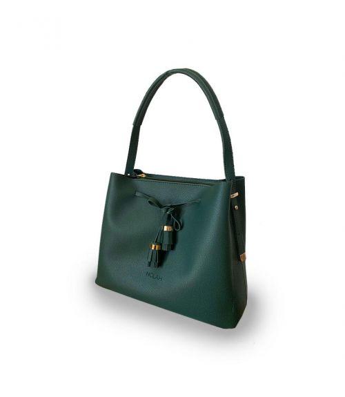 Τσάντα ώμου Carrie  - Χακί