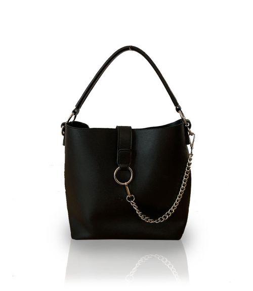 Τσάντα ώμου Kylie - Μαύρο
