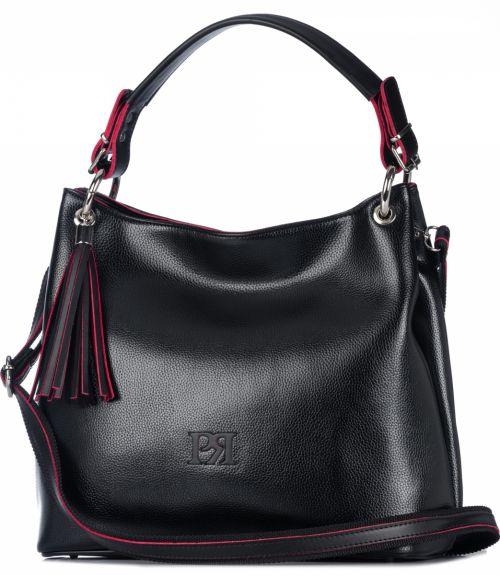 Τσάντα ώμου Pierro - Μαύρο