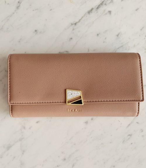 Cassie πορτοφόλι με σχέδιο  - Nude