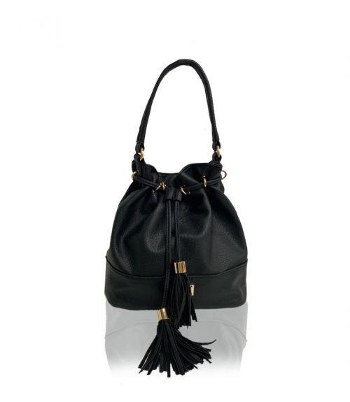 Τσάντα πουγκί Belle  - Μαύρο