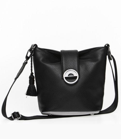 Τσάντα  ώμου - Μαύρο