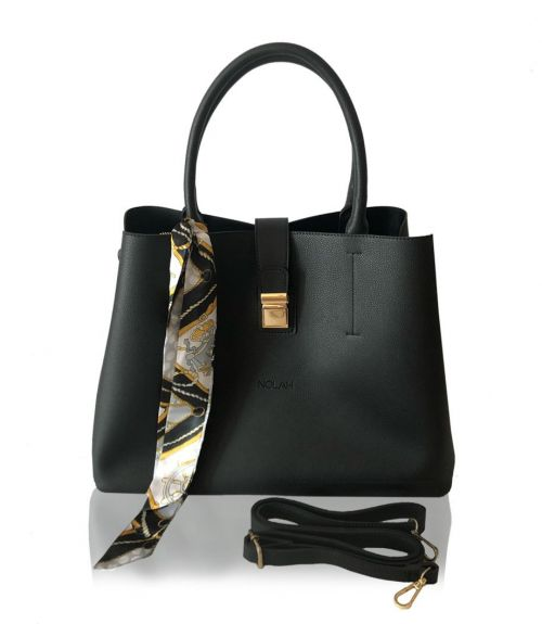 Τσάντα χειρός Olivia  - Μαύρο