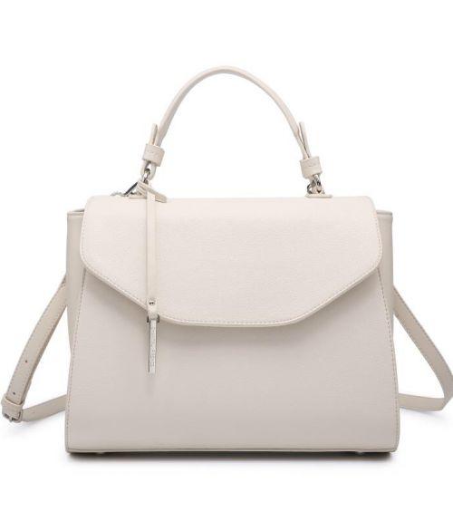 Τσάντα χειρός με μακρύ λουράκι - Μπέζ