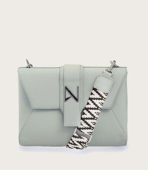 Leah τσάντα φάκελος - Γαλάζιο