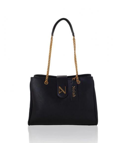 Aurora τσάντα ώμου - Μαύρο