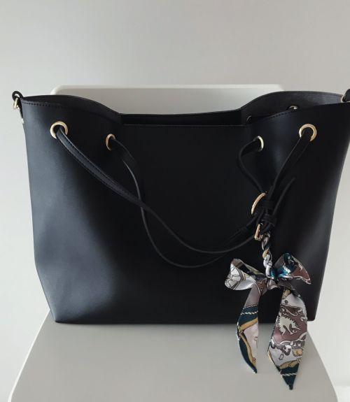 Τσάντα ώμου Adelia  - Μαύρο