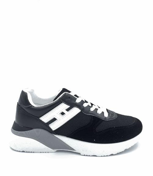 Πάνινα sneakers  - Μαύρο