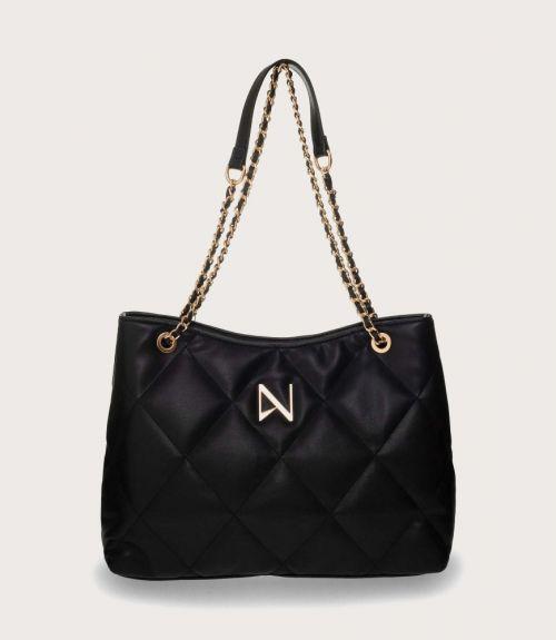 Gwen τσάντα καπιτονέ - Μαύρο