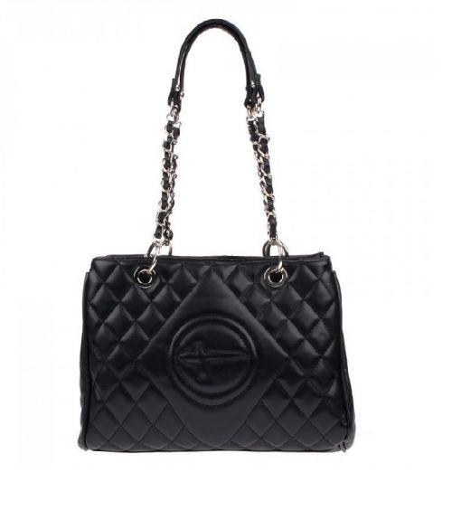 Tamaris τσάντα ώμου με αλυσίδα  - Μαύρο