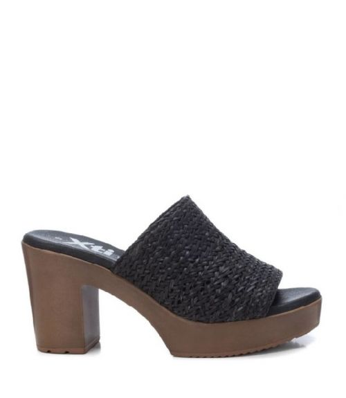 Xti mules με τακούνι - Μαύρο