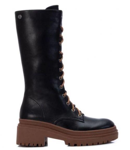 Μπότες με συνδυασμό χρωμάτων - Ταμπά