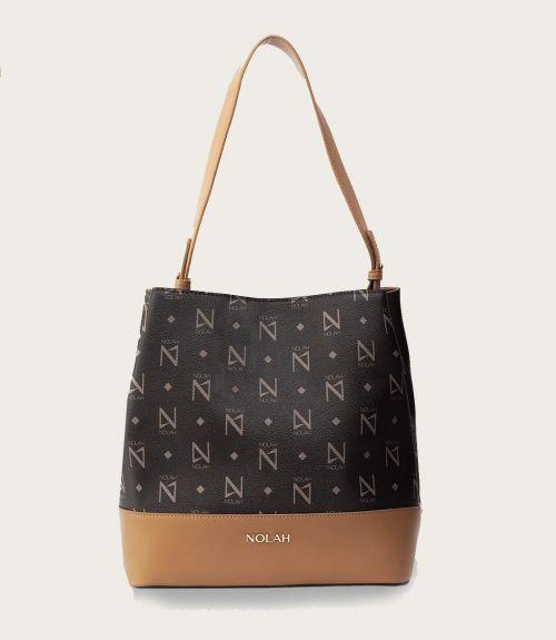 Grace τσάντα ώμου - Καφέ