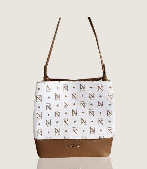 Grace τσάντα ώμου - Λευκό