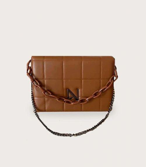 Nora τσάντα με αλυσίδα - Ταμπά
