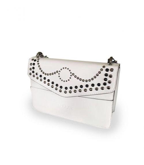 Zina τσάντα με αλυσίδα - Λευκό