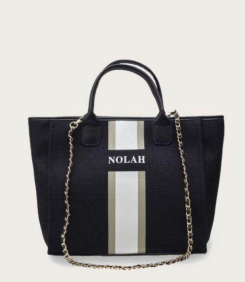 Brianna τσάντα χειρός - Μαύρο
