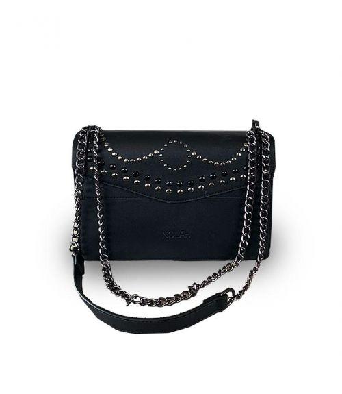 Zina τσάντα με αλυσίδα - Μαύρο