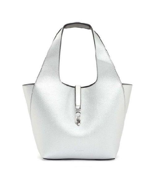 Tamaris τσάντα ώμου - Ασημί