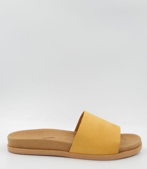 Ανατομικές σαγιονάρες με φάσα - Κίτρινο