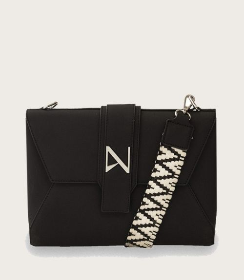 Leah τσάντα φάκελος - Μαύρο