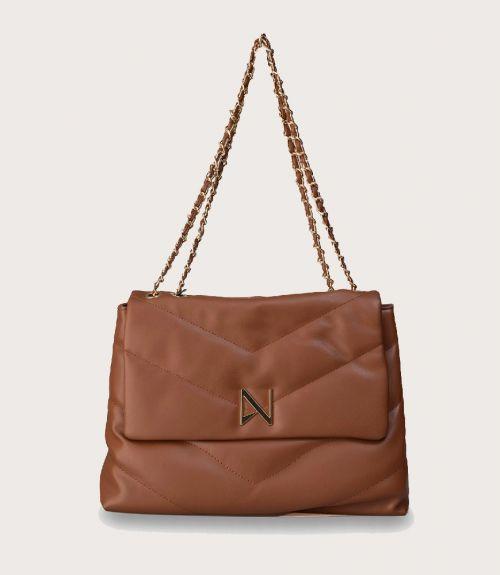 Keira τσάντα ώμου με αλυσίδα - Ταμπά