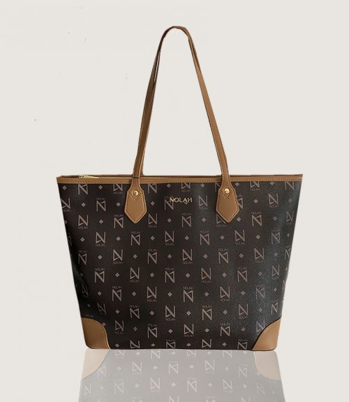 Vanity τσάντα ώμου - Καφέ